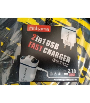 Chargeur Micro USB 2.1A USB 3